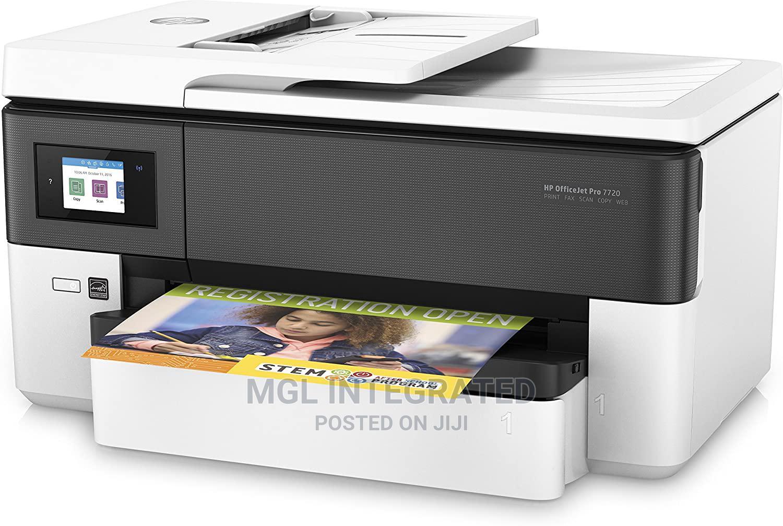 HP Officejet Pro 7720 All In One Wide Format Printer