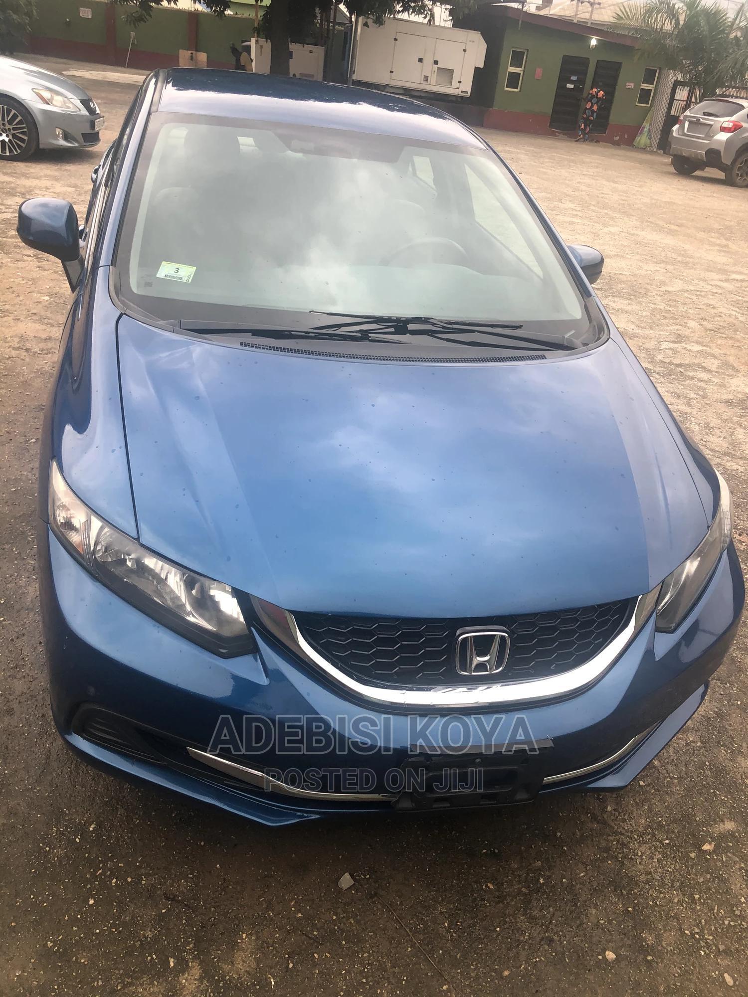 Honda Civic 2015 Blue