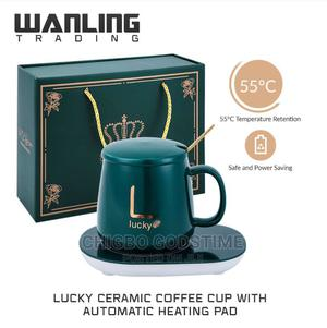 Coffee Cup With Automatic Heating Pad | Kitchen & Dining for sale in Lagos State, Surulere
