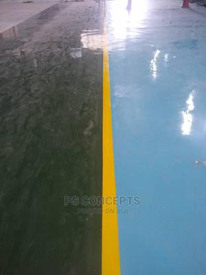 Epoxy Floor Finish (Industrial and Domestic) | Building Materials for sale in Lagos State, Ajah
