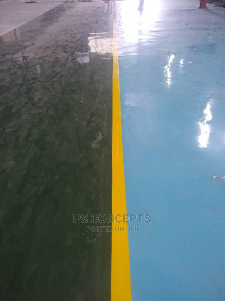 Epoxy Floor Finish (Industrial and Domestic)
