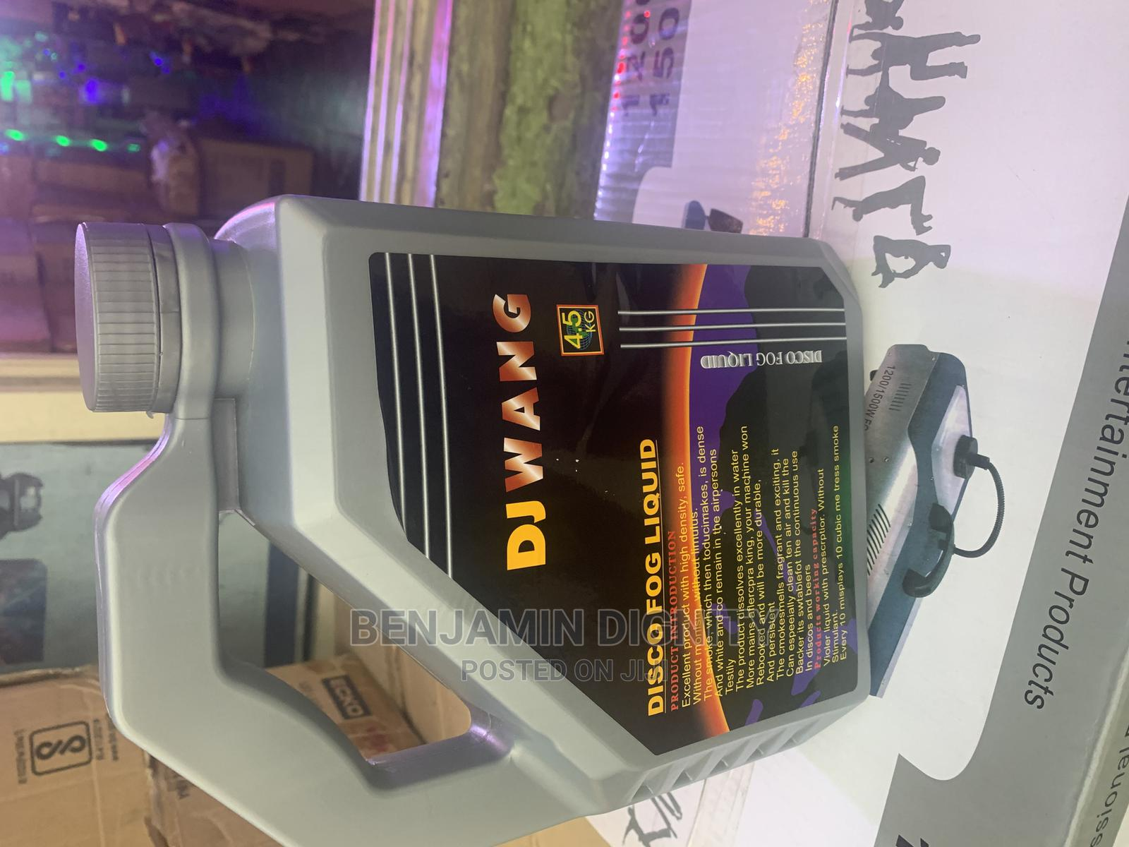 Fog Smoke Machine Liquid | Stage Lighting & Effects for sale in Ojo, Lagos State, Nigeria