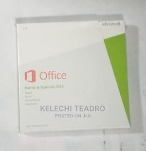 Microsoft Office 2013 (Home Student) | Software for sale in Rivers State, Port-Harcourt