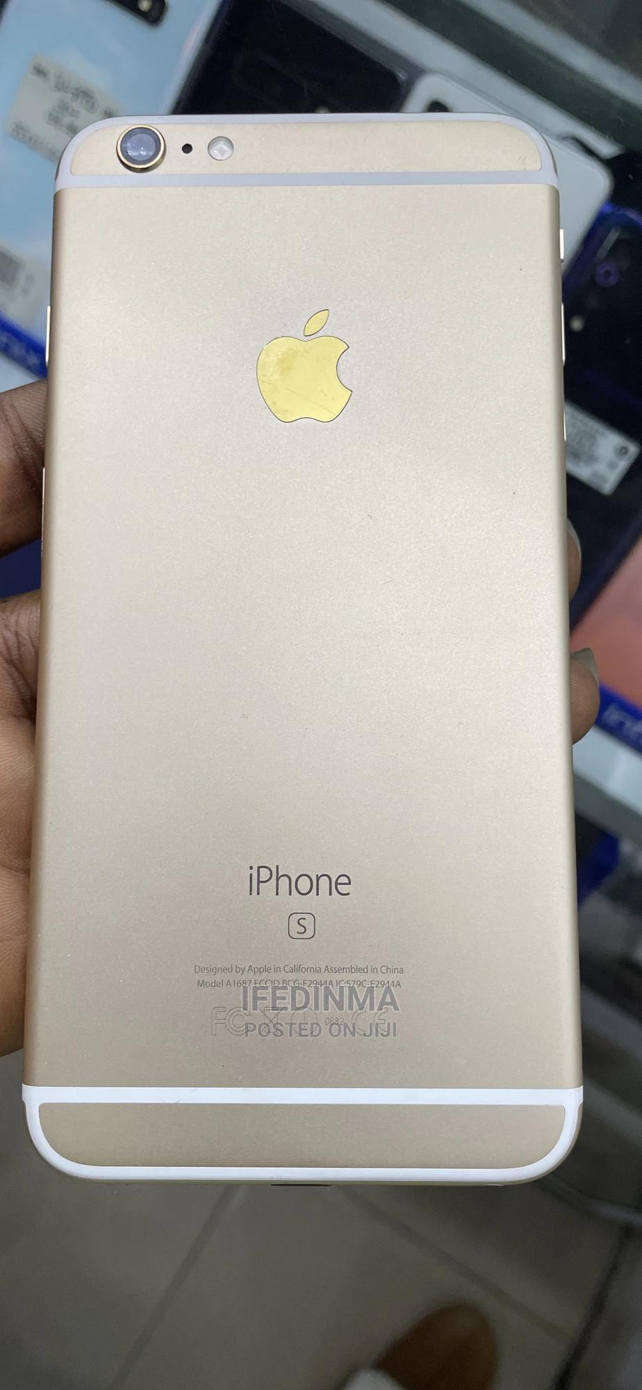 Archive: Apple iPhone 6s Plus 64 GB Gold