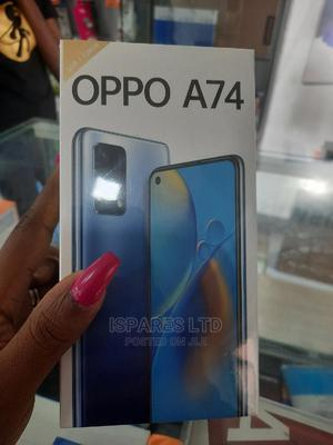 New Oppo A74 128 GB Black | Mobile Phones for sale in Rivers State, Port-Harcourt