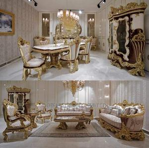 Quality Turkish Royal Seating Room Set and Dining Set | Furniture for sale in Lagos State, Alimosho