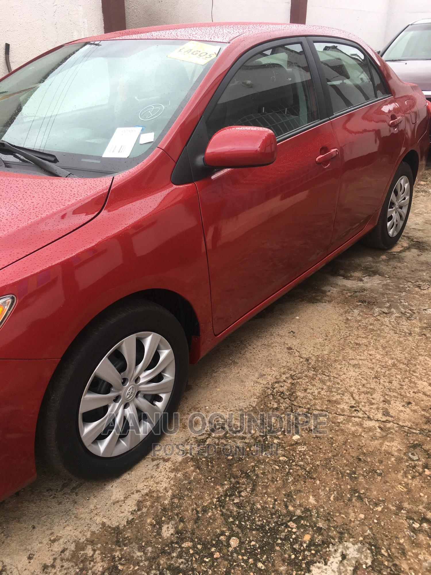 Toyota Corolla 2012 Red   Cars for sale in Ado Ekiti, Ekiti State, Nigeria