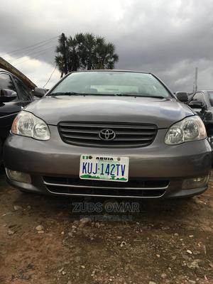 Toyota Corolla 2003 Sedan Gray   Cars for sale in Kaduna State, Kaduna / Kaduna State