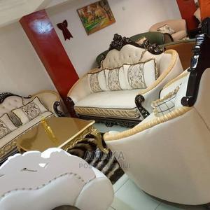 Interior Design Leather Sofa   Furniture for sale in Lagos State, Tarkwa Bay Island