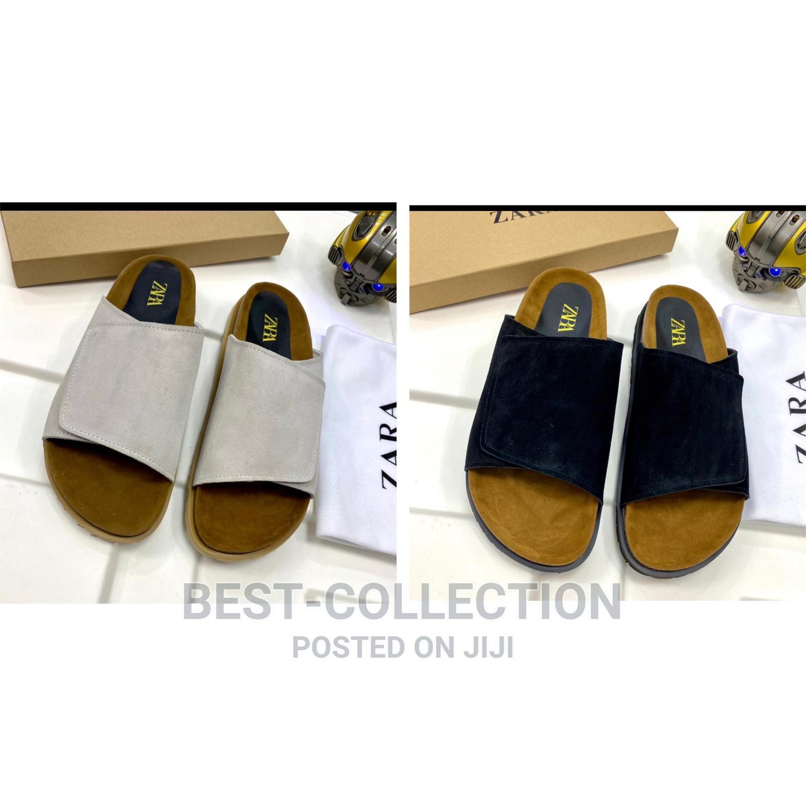 Designer Quality Zara Palm Slippers