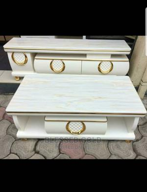 Marble Center Table Tv Stand | Furniture for sale in Lagos State, Ajah