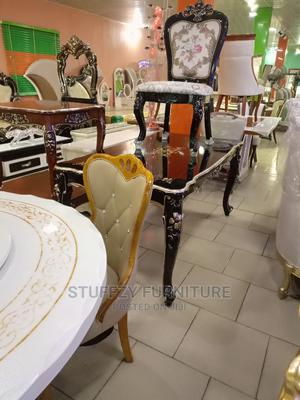 Italian Supermax Wooden Royal Dinning Table With 6 Chairs | Furniture for sale in Lagos State, Lagos Island (Eko)