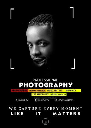 Photography and Videography   Photography & Video Services for sale in Abuja (FCT) State, Kubwa