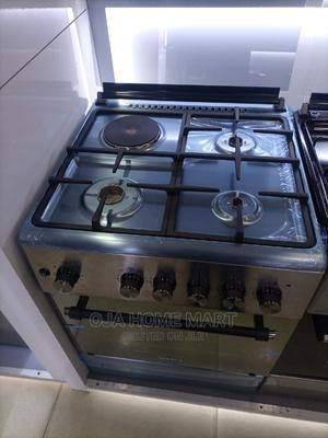 Maxi Standing Gas Cooker 3gas 1 Electric +Oven   Kitchen Appliances for sale in Lagos State, Ikeja