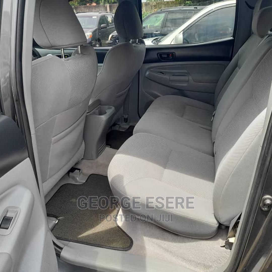 Archive: Toyota Tacoma 2010 Double Cab V6 Automatic Gray