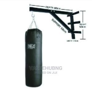 Punching Bag +Wall Bracket | Sports Equipment for sale in Lagos State, Lekki