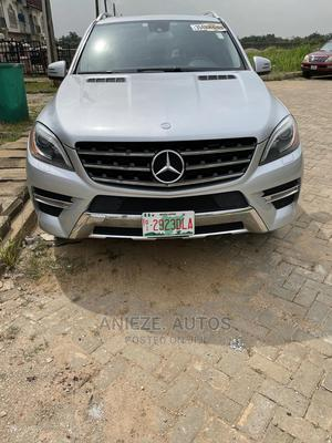 Mercedes-Benz M Class 2013 ML 550 4Matic Silver | Cars for sale in Lagos State, Ojodu