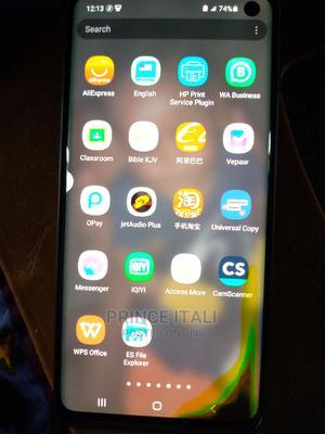 Samsung Galaxy S10 128 GB Black | Mobile Phones for sale in Delta State, Warri