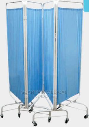 Stainless Steel Hospital Furniture Folding Ward Screen.   Medical Supplies & Equipment for sale in Rivers State, Abua/Odual