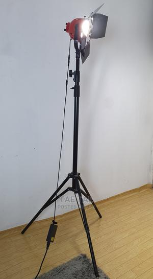 2-in-1 Fluorescent And Warm Red Head Light & Tripod Stand | Stage Lighting & Effects for sale in Lagos State, Shomolu
