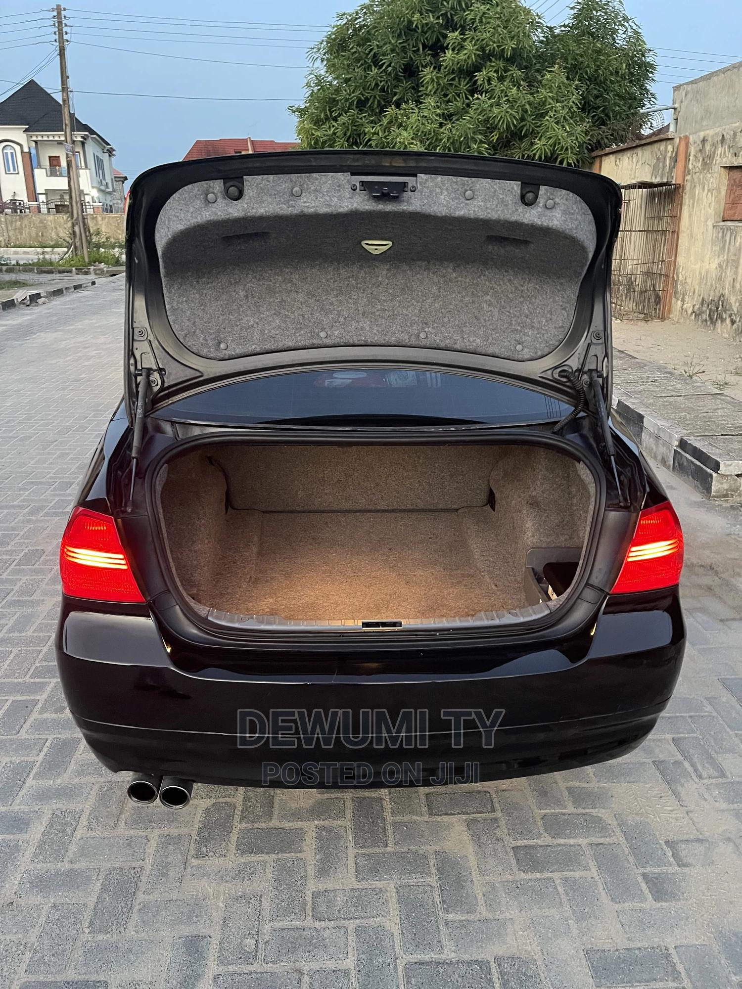 BMW 328i 2008 Black | Cars for sale in Ajah, Lagos State, Nigeria
