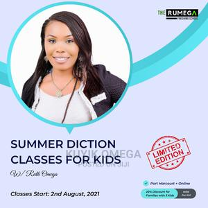 Summer Diction Classes for Kids | Child Care & Education Services for sale in Rivers State, Port-Harcourt