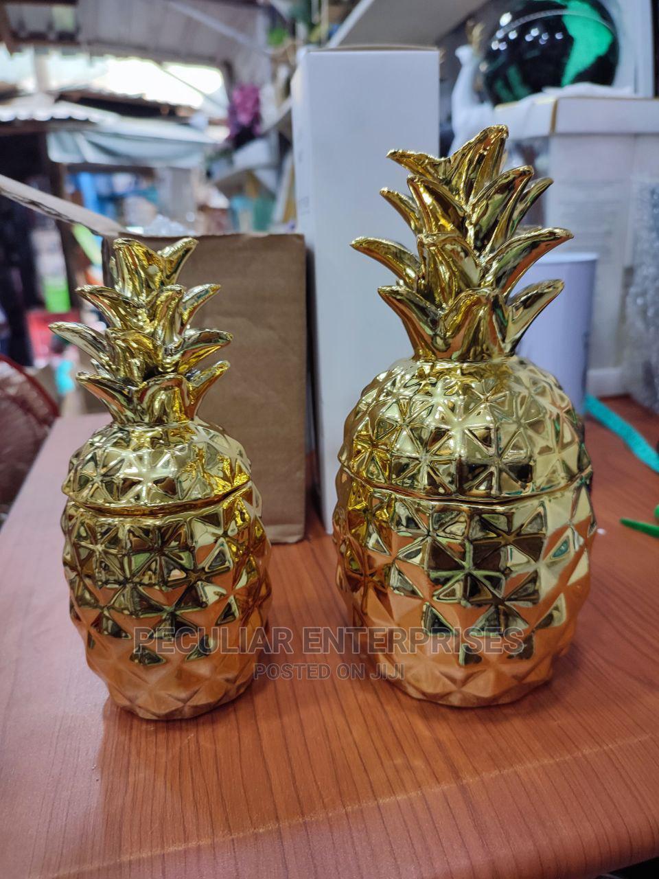 Pineapple Storage Figurine Decor