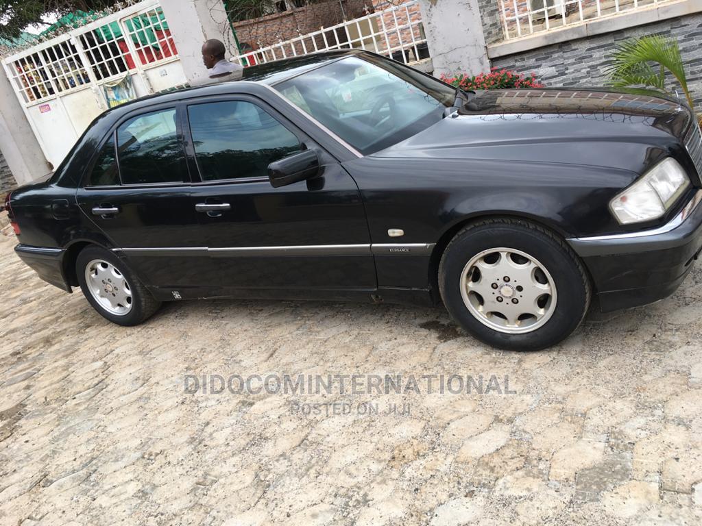 Mercedes-Benz C180 2001 Black