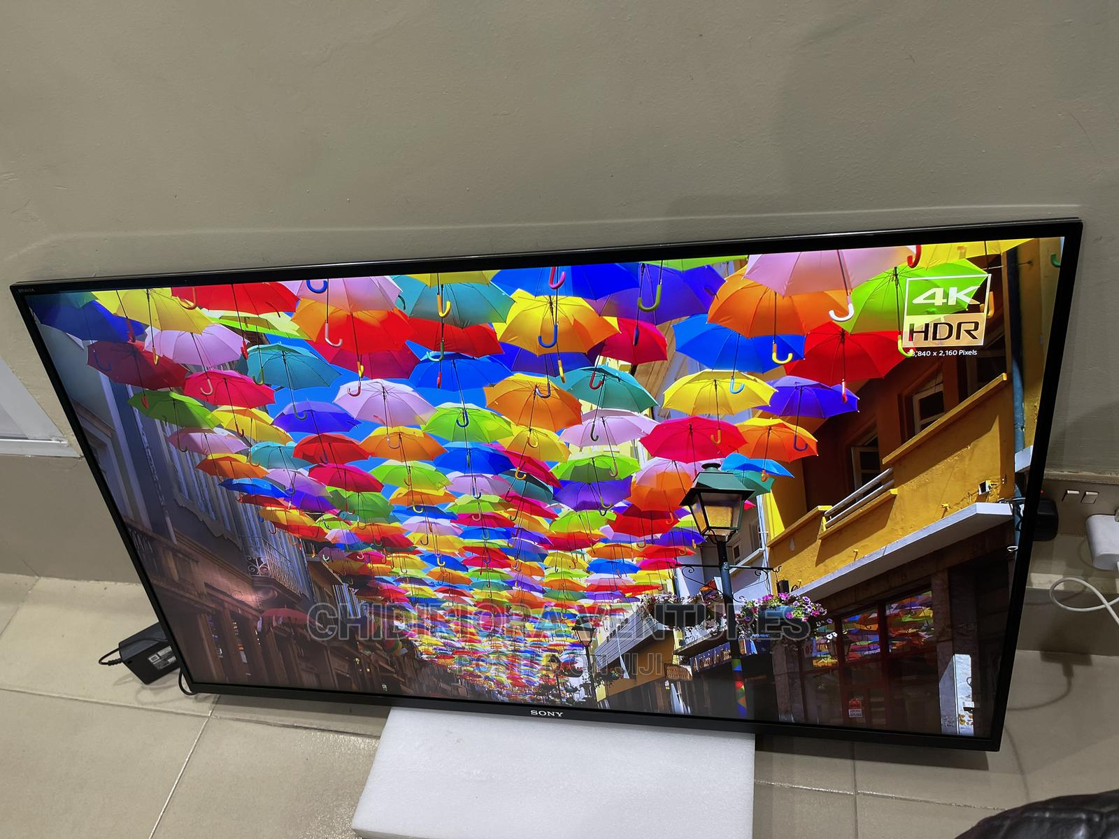 Sony Bravia Kd43xe8005 LED Hdr 4K Ultra HD Smart Android TV | TV & DVD Equipment for sale in Ojo, Lagos State, Nigeria