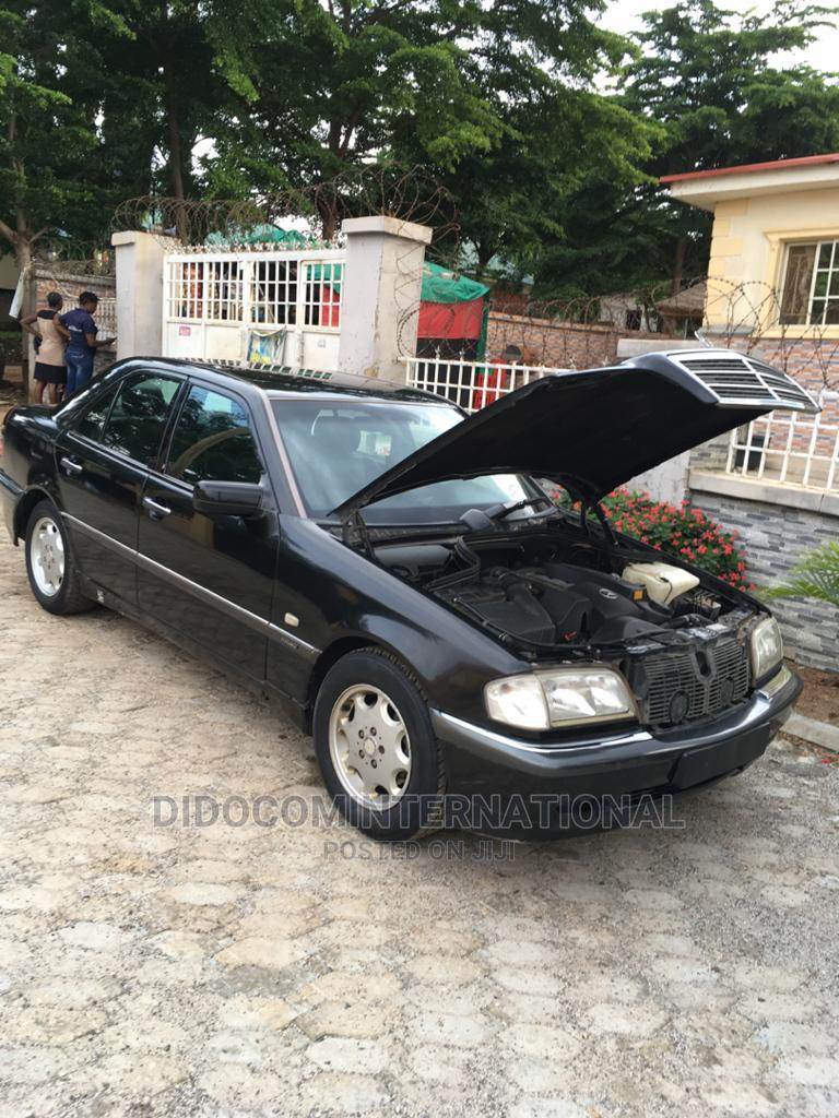 Mercedes-Benz C180 2001 Black   Cars for sale in Nyanya, Abuja (FCT) State, Nigeria