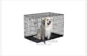 Wire Collapsible Dog Cage | Pet's Accessories for sale in Lagos State, Magodo