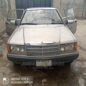 Mercedes-Benz 190E 1991 Gold | Cars for sale in Lagos State, Ikorodu