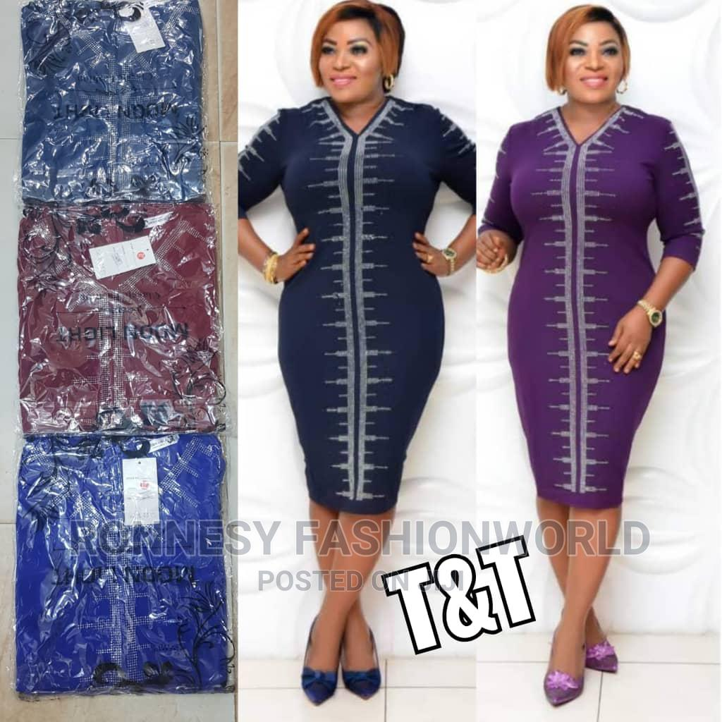 Elegant Classic Trendy Female Quality Gown   Clothing for sale in Ikeja, Lagos State, Nigeria