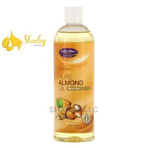 Life-Flo Pure Almond Oil Skin Care 16 FL Oz (473ml)   Skin Care for sale in Lagos State, Alimosho
