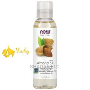 Now Foods Solutions Sweet Almond Oil 4 FL Oz (118ml) | Skin Care for sale in Lagos State, Alimosho