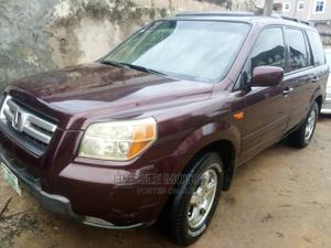 Honda Pilot 2008 EX 4x4 (3.5L 6cyl 5A) Brown | Cars for sale in Lagos State, Apapa