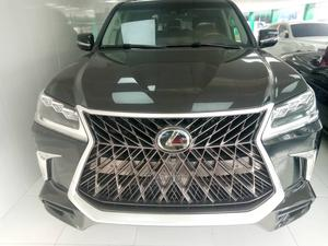 Lexus LX 2019 570 AWD Black | Cars for sale in Lagos State, Ajah