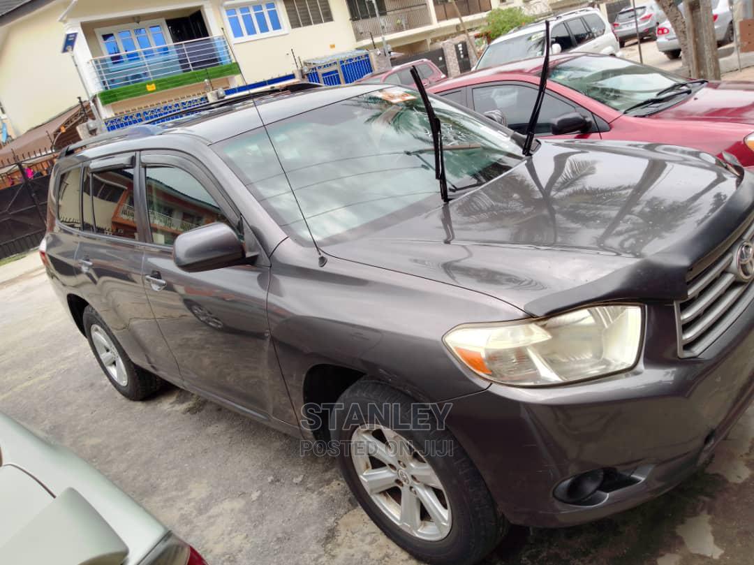Toyota Highlander 2008 Gray