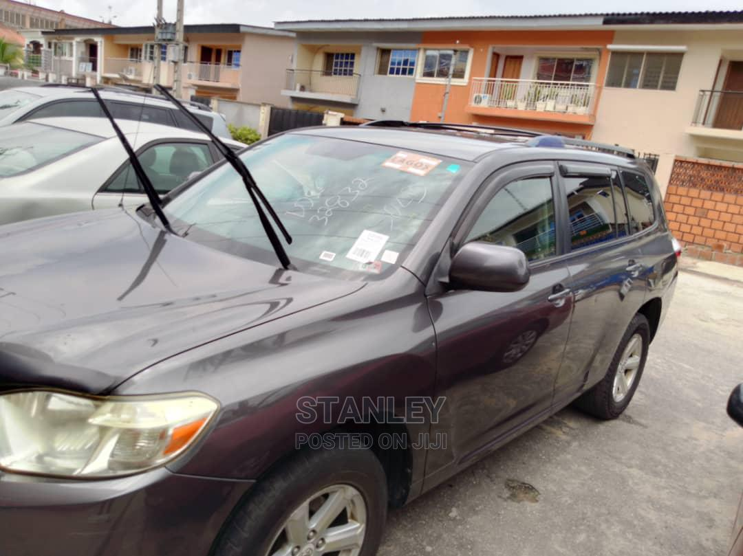 Toyota Highlander 2008 Gray | Cars for sale in Yaba, Lagos State, Nigeria