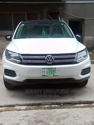 Volkswagen Tiguan 2013 S with Sunroof White | Cars for sale in Lagos State, Oshodi