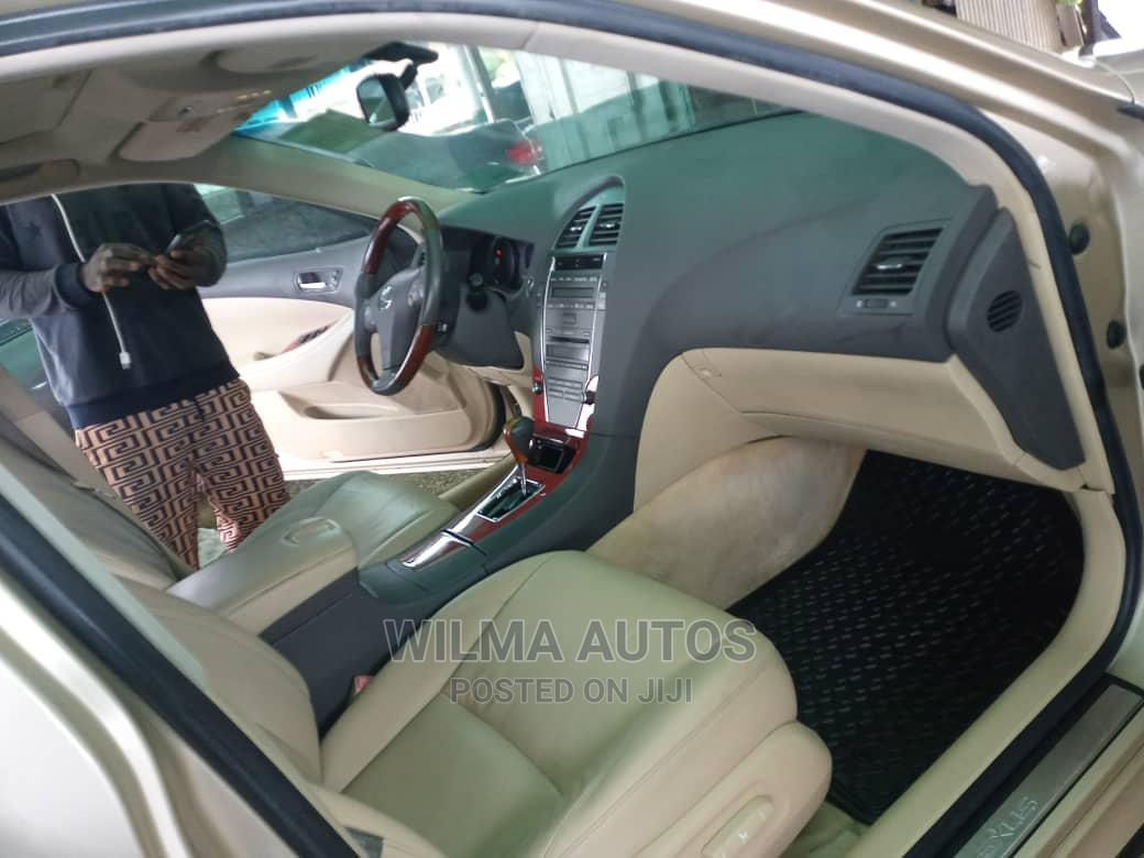 Archive: Lexus ES 2009 350 Gold