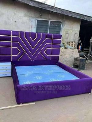 Upholstery Fabric Bed | Furniture for sale in Lagos State, Ojodu