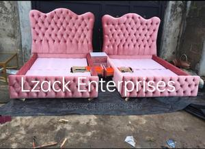 Upholstery Fabric Bed | Furniture for sale in Lagos State, Ogba