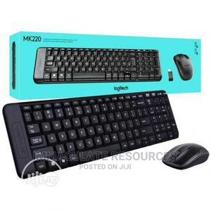 Original Logitech MK220 Wireless Keyboard and Mouse Combo | Computer Accessories  for sale in Rivers State, Port-Harcourt