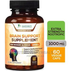 Nature's Nutrition Brain Supplements (60 Capsules)   Vitamins & Supplements for sale in Lagos State, Yaba