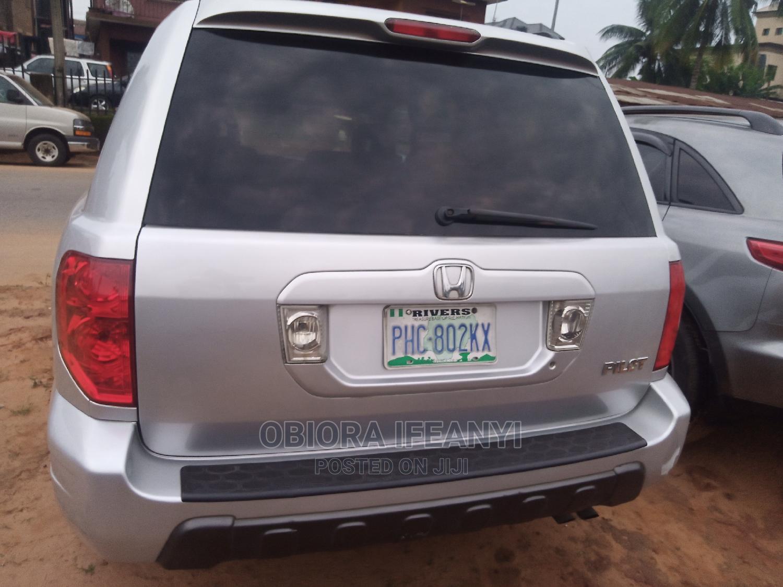 Honda Pilot 2004 EX 4x4 (3.5L 6cyl 5A) Silver | Cars for sale in Awka, Anambra State, Nigeria