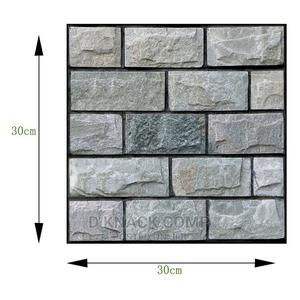 30cm2 Waterproof 3D Wall Sticker Tile Brick Self-Adhesive | Home Accessories for sale in Lagos State, Alimosho