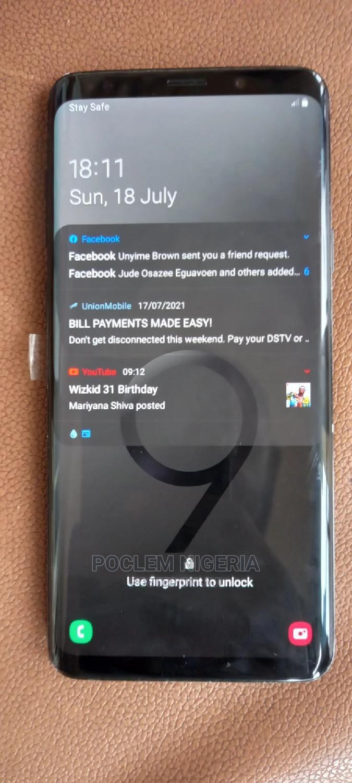 Samsung Galaxy S9 Plus 64 GB Black | Mobile Phones for sale in Benin City, Edo State, Nigeria