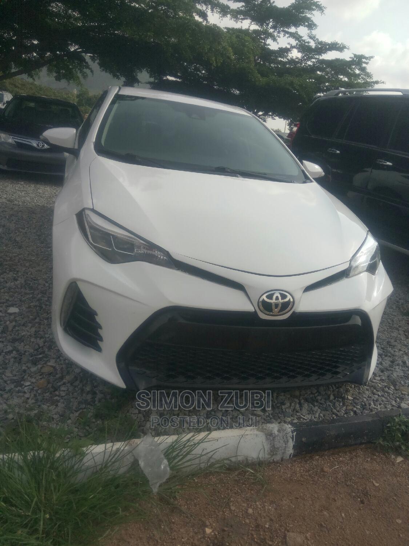 Archive: Toyota Corolla 2017 White