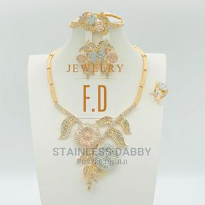 4-in-1 Women Jewelry Set Wedding Gift Necklace Earring | Jewelry for sale in Lagos State, Ojo